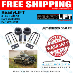 3 Lift Kit with 2 Rear Lift ReadyLift 69-1092
