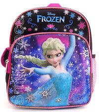 "Disney FROZEN ELSA Mini Backpack Girls 10"" Purse, Preschool Bag or Lunch Bag"