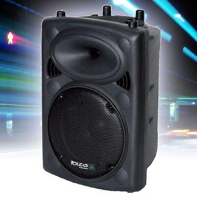 Aktiv Box Verstärker Lautsprecher Fernbedienung Bluetooth USB MP3 Musik Anlage