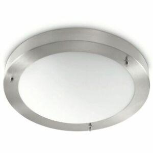 Details zu Philips myBathroom Deckenleuchte Badezimmer Lampe Salts Matt  Chrom 320101716