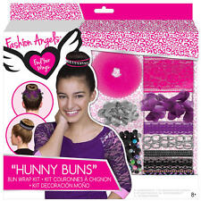 Fashion Angels Hunny Buns Hair Accessories Kit Brand New in Package