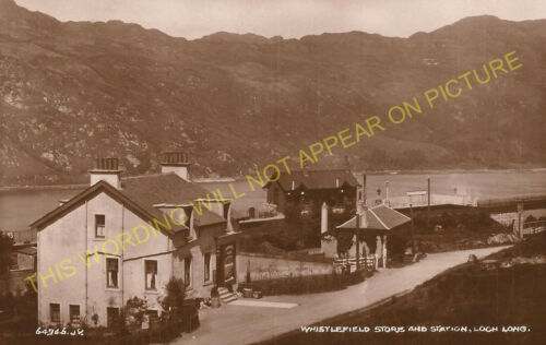 Garelochhead 7 Whistlefield Railway Station Photo Dumbarton Line. Arrochar