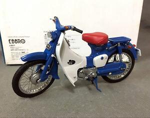 Image Is Loading Rare EBBRO 1 10 DieCast Bike Honda Super