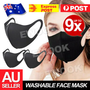 Washable Unisex Face Mask Mouth cover Masks Protective Reusable