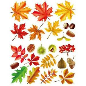 Herbst-Ahorn-Blaetter-Fenster-Wandaufkleber-Thanksgiving-Segen-Dekor-eNwrg
