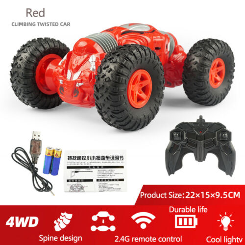 Electric Remote Control Vehicle Gesture Induct Twist OffRoad Stunt Toy Cars HOT