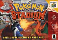 Nintendo N64 Pokemon Stadium Box Cover Photo Poster 8.5x11 No Game