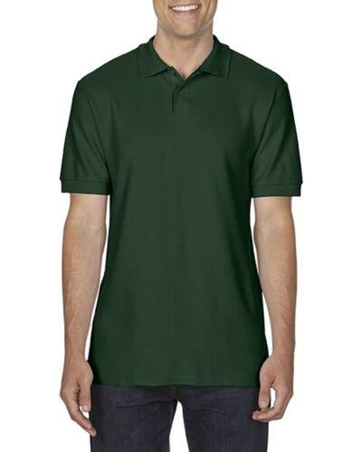 3 Pack Glidan Men/'s Polo Shirt SoftStyle® Double Pique Polo Shirt Super Soft