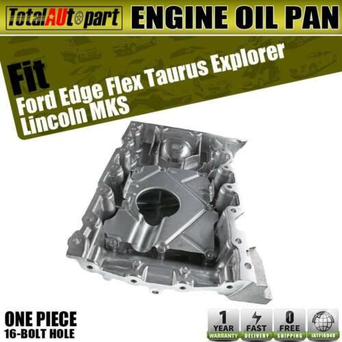New Engine Oil Pan Sump for Ford Explorer Lincoln MKS MKT V6 3.5L 3.7L 2013-2018
