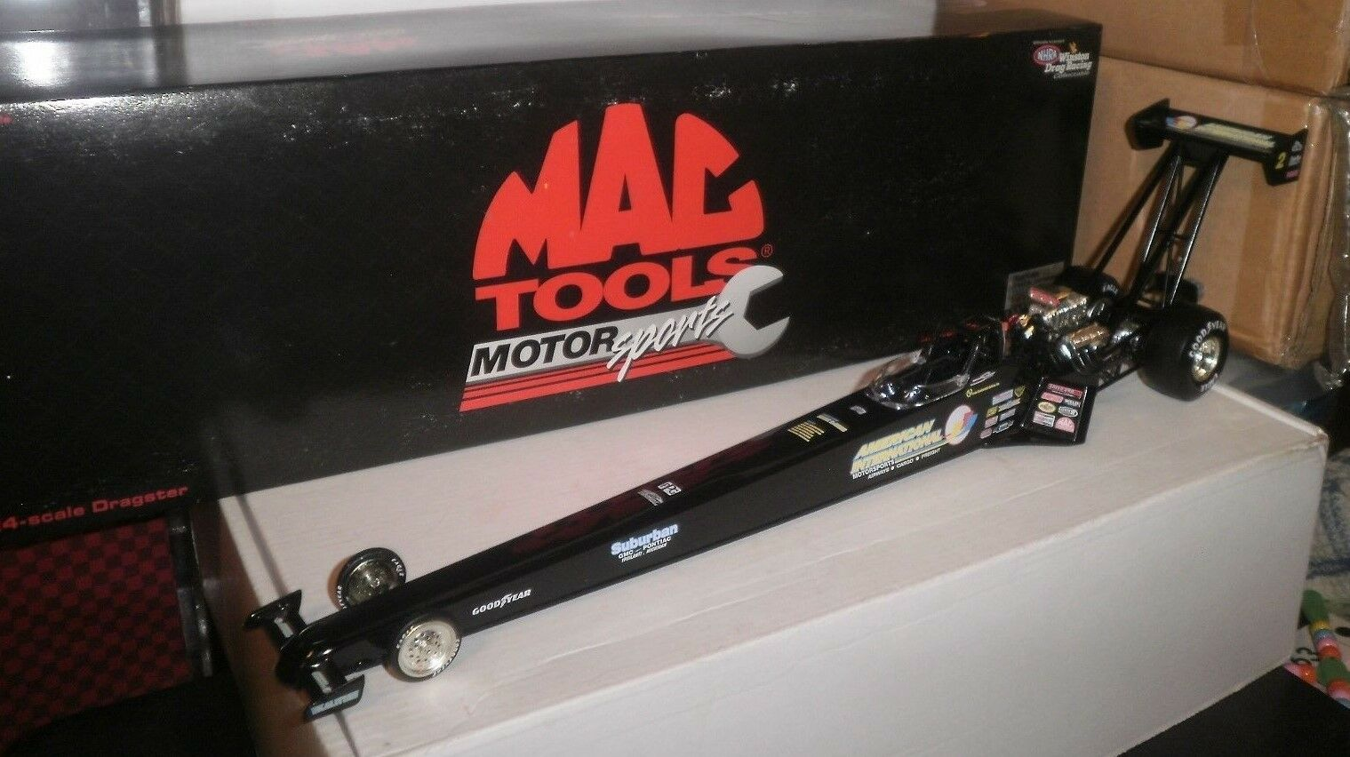 NHRA 1 24 MAC TOOLS 1997 SCOTT KALITTA AMERICAN INTERNATIONAL AIRWAYS 1 4000