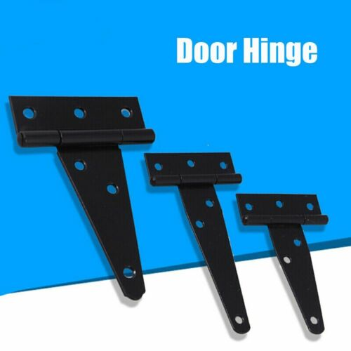 Garden Accessory Furniture Black Iron Tee Hinge Hinges Hardware Cabinet Shed
