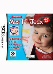 Mes-premiers-jeux-Garcons-console-Nintendo-DS-DSi-DS-lite-jeu-vendu-en-loose