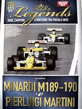 Poster Story LEGENDS - Minardi M189 - 190 & Pierluigi Martini  [AS3] -112
