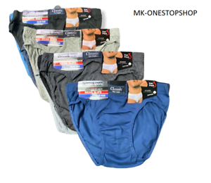 6-12 PAIRS MEN/'S PLAIN TUNNEL ELASTICATED COLOURED HIPSTER BRIEFS ALL SIZES