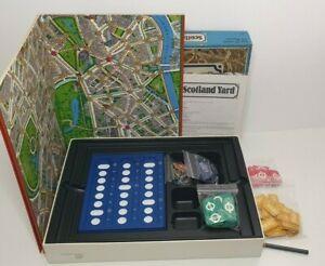 Vintage Scotland Yard Board Game 1983 Complete