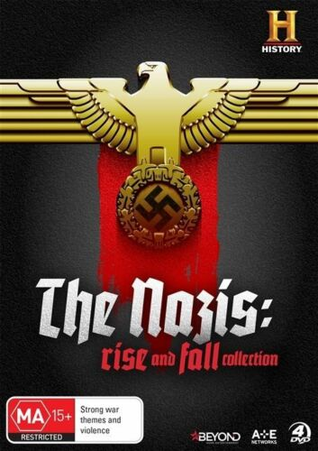 1 of 1 - The Nazis - Rise And Fall (DVD, 2016, 4-Disc Set)