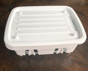 Camco Mini Sink Dish Drainer For Rv Camper Trailer Motorhome White 2 Piece Snap Ebay