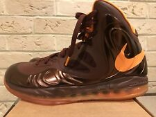 premium selection 53ffd 3e847 Nike Air Max Hyperposite Basketball Sz 18 Team Brown orange 524862-200