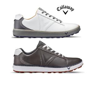 2018-Callaway-Golf-Men-039-s-Delmar-Retro-Golf-Shoes-spikeless-leather-waterproof