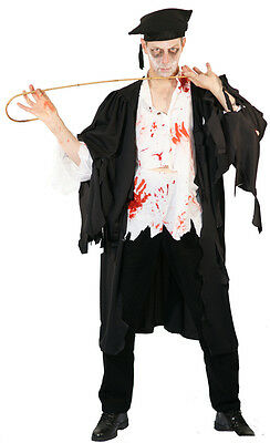 Halloween-Scary-Horror-Zombie EVIL TEACHER  Fancy Dress Costume  Sml-XXXXL