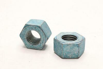25 pk. 1//2-13 Grade DH Hot Dip Galvanized Finish Carbon Steel Heavy Hex Nuts
