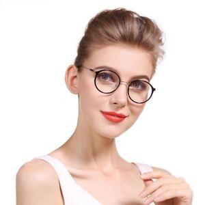 Image is loading Reading-Glasses-Women-Round-Circle-Vintage-Professor-Oval- 5de1ed5693