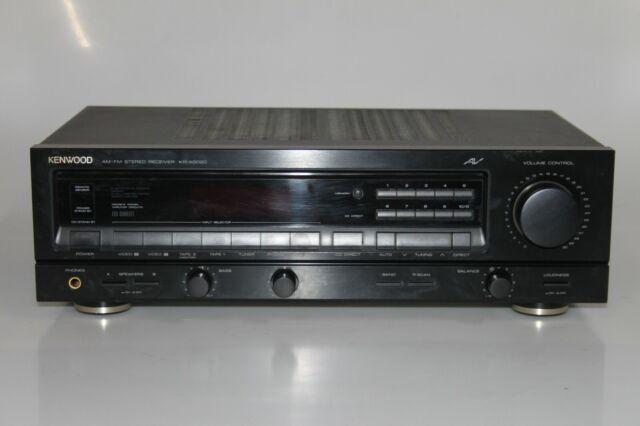 Kenwood KR-A5020 - AM-FM Stereo Receiver Verstärker Amplifier - schwarz