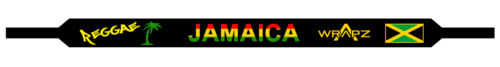 Wrapz JAMAICA REGGAE Floating Neoprene Sunglasses Strap  STRAP ONLY