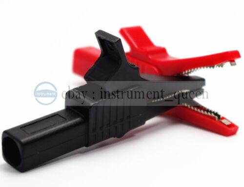Alligator Clip multimètre stylo HV Test Clips sondes utiliser pour Fluke TL224 TL221