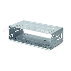 US-Universal-Single-1-DIN-Car-Stereo-Radio-DVD-Player-Installation-Mounting-Kit