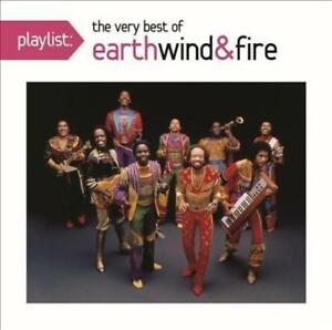 Playlist-Very-Best-Of-Earth-Wind-amp-Fire-New-amp-Sealed-CD