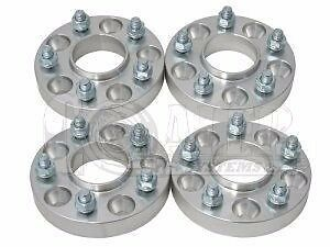 "4x 5x4.5 to 5x5 1.25/"" Adapters 1//2/"" Wheel Spacers for Jeep Wrangler 1987-2006"