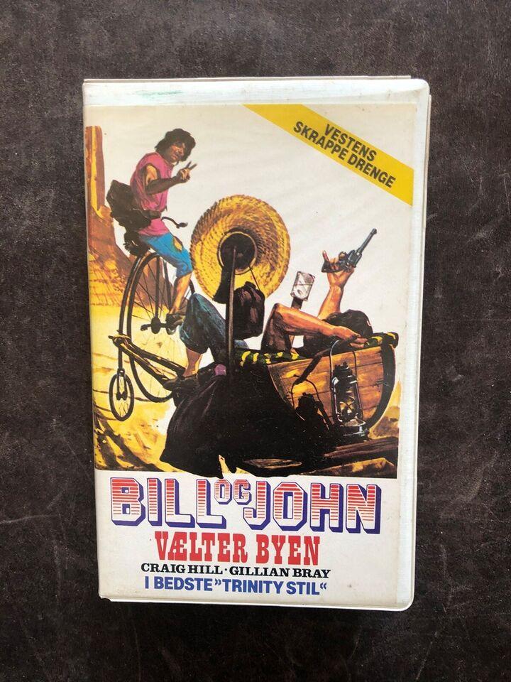 Western, Bill og John vælter byen