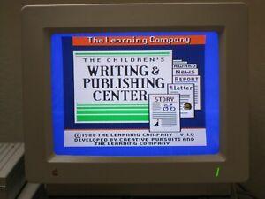 Vintage-1988-Children-039-s-Writing-amp-Publishing-Center-Apple-IIGS-3-1-2-034-Complete