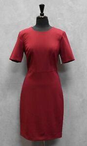 2d290b6a C0 NWT TRINA TURK Diamante Garnet Elbow Cap Sleeve Sheath Dress Size ...