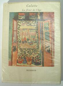 COLETTE-La-Fleur-de-l-039-age-Mermod-Edition-numerotee-1960-Parfait-etat