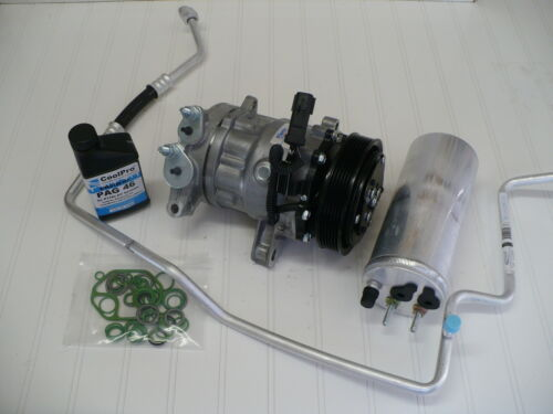 3.7L New A//C AC Compressor Kit 2002-2005 Jeep Liberty