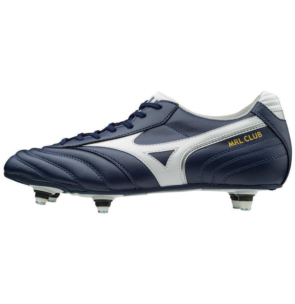 Mizuno MRL Club Si Weiß Blau Football Stiefel Cam Table Football P1GC171614 NEW