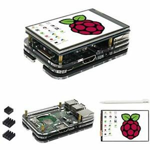 Details about Raspberry Pi 3 B+ Display Case, 3 5 Inch TFT LCD Touch Screen  Monitor Driver Pi