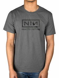 98dab0dd2e569 Details about Official Nine Inch Nails Now Im Nothing T-Shirt Trent Reznor  The Fragile With Te