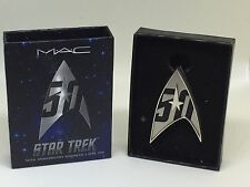 Limited Edition MAC Cosmetics Star Trek 50th Anniversary Magnetic Lapel Pin