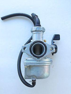 Carburetor For Kawasaki  KLX110  KLX 110 2002-2009 Hand Choke Lever Carb PE#0019