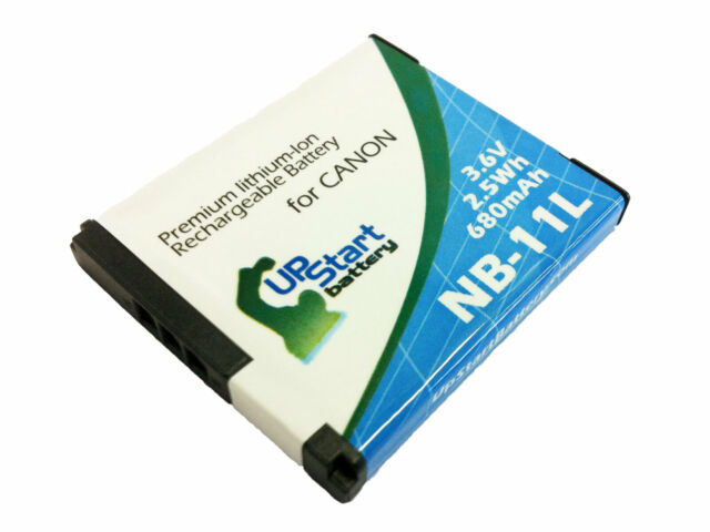 Battery for Canon Powershot A2300, Powershot A4000 IS, A2500, NB 11l, ixus 132