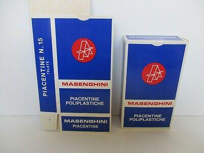 Cordiale Scatola Carte Piacentine Telate Poliplastiche Art 15 Blu Masenghini