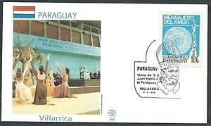 1988 Vaticano Viaggi Del Papa Paraguay Villarrica - Sv2