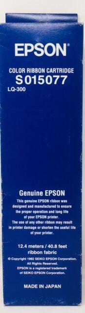 Epson S015077 Tape Original Colour For Epson LQ-300