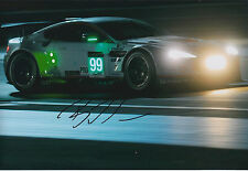 Bruno SENNA SIGNED 12x8 Photo AFTAL COA Autograph Aston Martin WEC Le Mans