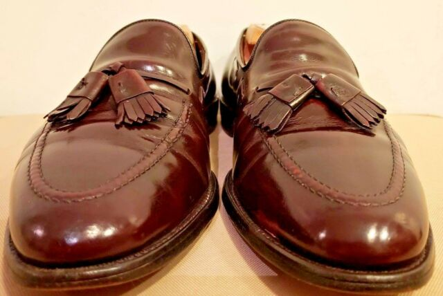 Allen Edmonds Grayson Brown Tassel Loafer Shoes Size US 10.5 M av  81830ea089a