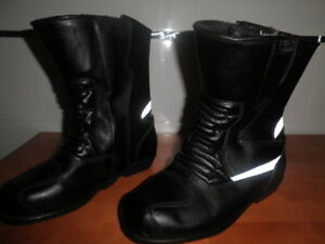 HELD-BOTAS-MOTORISTA-PIEL-CANA-MEDIA-MADE-IN-GE-CUERO-TRATADO-AJUSTABLES-38