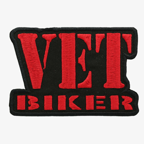 VET BIKER Embroidered Biker patch